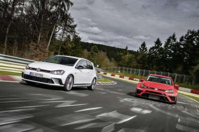 NEW VOLKSWAGEN GOLF GTI CLUBSPORT S BREAKS NÜRBURGRING LAP RECORD, MAKES WÖRTHERSEE DEBUT