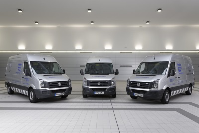 NEW VOLKSWAGEN MOBILE SERVICE CLINIC VANS KEEP CUSTOMERS MOBILE