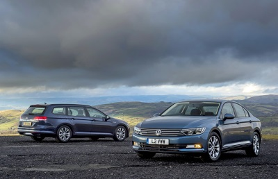 VOLKSWAGEN MEANS BUSINESS WITH PASSAT AND PASSAT ESTATE