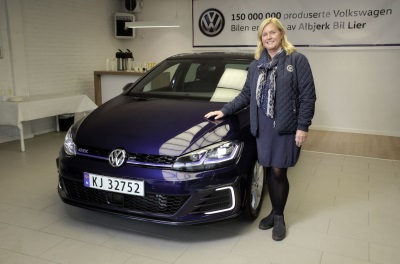 From Wolfsburg To Norway: 150 Millionth Volkswagen Delivered