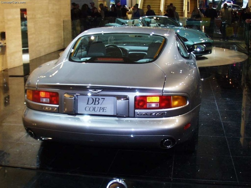2000 Aston Martin Db7 History Pictures Value Auction Sales
