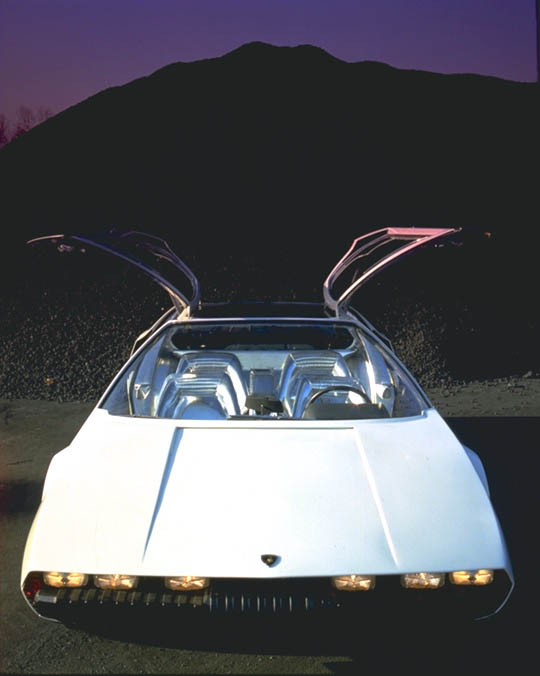 1967 Lamborghini Marzal Concept Image Chassis Number 10001 Photo