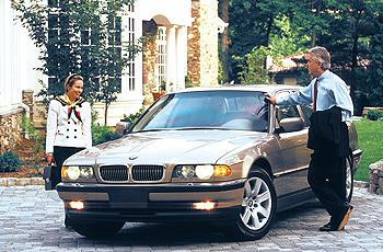 2000 BMW 740