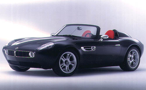 1998 BMW Z07 Concept Pictures, History, Value, Research, News