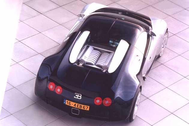 Bugatti veyron 2001