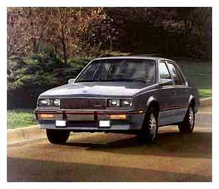 1985 Cadillac Cimarron