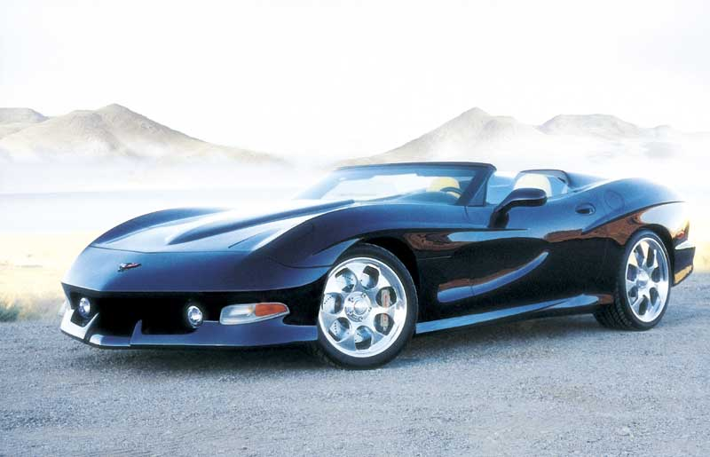 2000 Avelate Corvette C5 Speedster Pictures, History ...