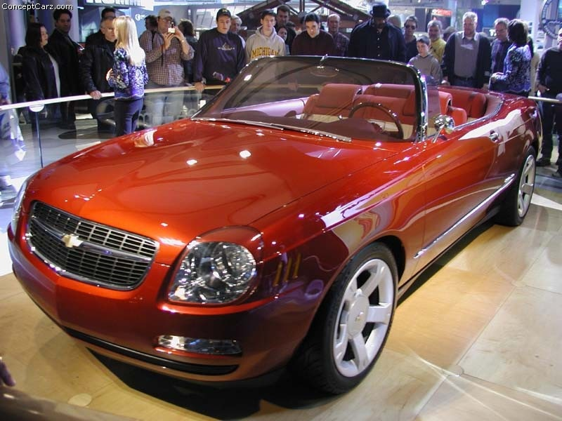 2002 Chevrolet Bel Air Concept Image Photo 24 Of 29