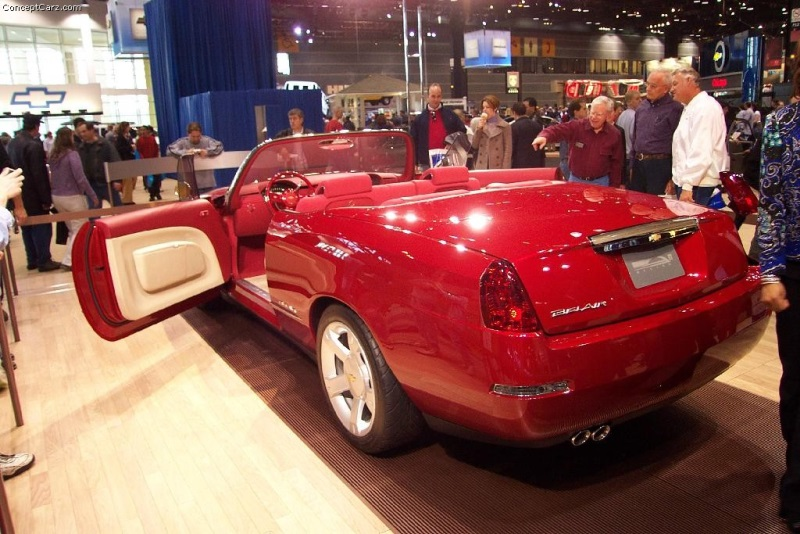 2002 Chevrolet Bel Air Concept Image Photo 17 Of 29