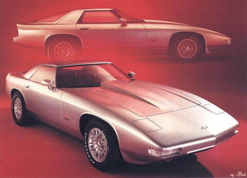 1973 Chevrolet XP 898 Concept