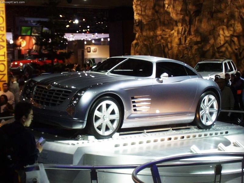 2001 Chrysler Crossfire Concept Image Photo 97 Of 97
