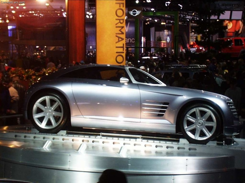 2001 Chrysler Crossfire Concept Image Photo 93 Of 97