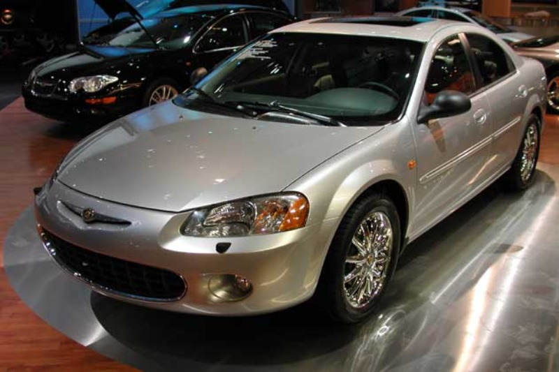 2001 chrysler sebring history pictures sales value. Black Bedroom Furniture Sets. Home Design Ideas