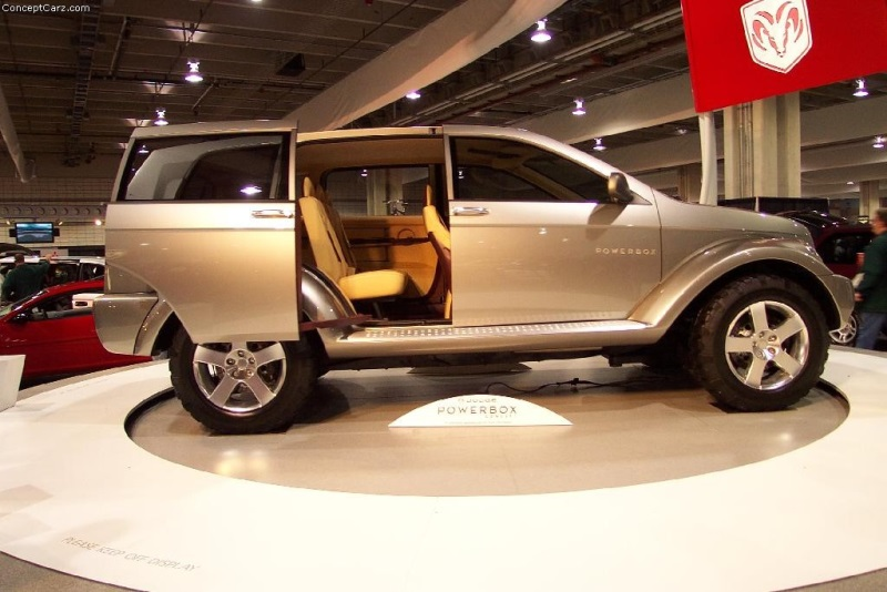 2001 Dodge Powerbox Concept Image Photo 6 Of 13