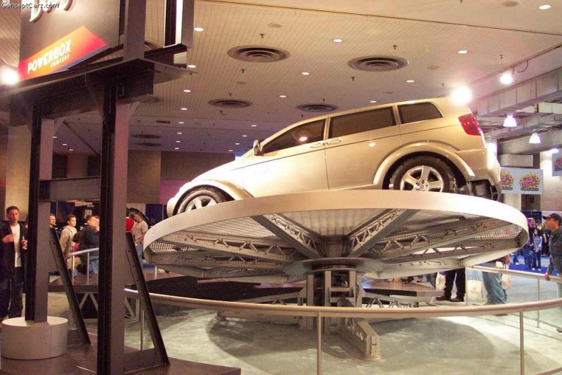 2001 Dodge Powerbox Concept Image Photo 12 Of 13