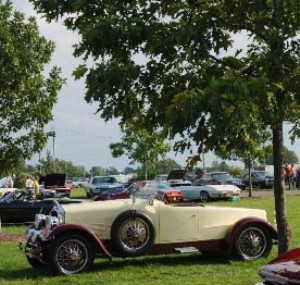 Watkins Glen Antique Car Show