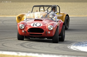 Rolex Monterey Motorsports Reunion :  Cobras Take It To The Limit