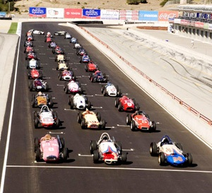 Monterey Historic Automobile Races at Laguna Seca
