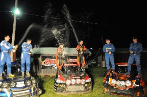L^Estage and Richard seize another victory at STPR