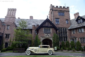 The Concours d^Elegance at Stan Hywet Hall & Gardens