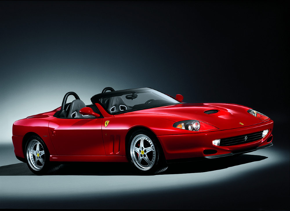 2000 Ferrari 550 Barchetta History Pictures Value