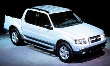 2001 ford explorer sport trac history, pictures, sales value