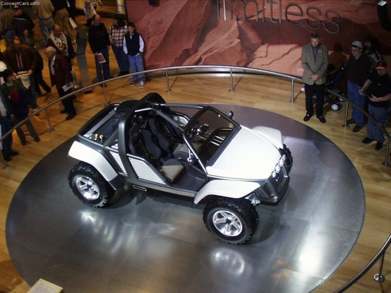 2001 Ford Ex Concept