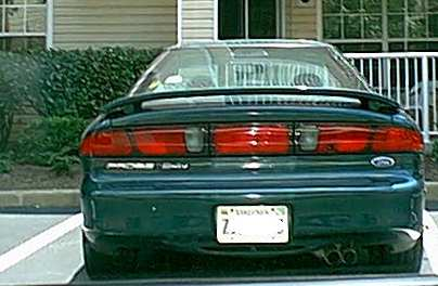 Note The Images Shown Are Representations Of 1995 Ford Probe