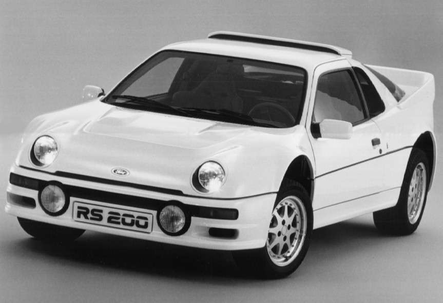 1985 ford rs200 evolution history  pictures  value