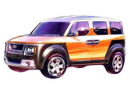 Honda Element Concept >> 2004 Honda Element Concept Wallpaper And Image Gallery