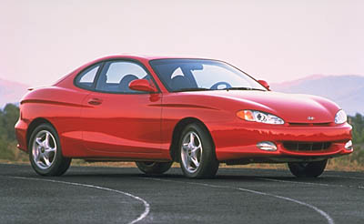 1999 Hyundai Tiburon pictures and wallpaper
