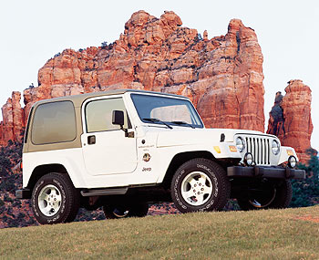 2001 Jeep Wrangler Sahara Thumbnail Image