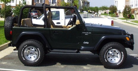 Auction Results and Sales Data for 1997 Jeep Wrangler