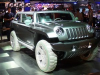 2001 Jeep Willys Concept image.