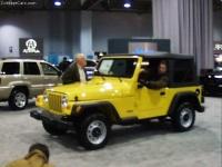 2001 Jeep Wrangler Sahara image.