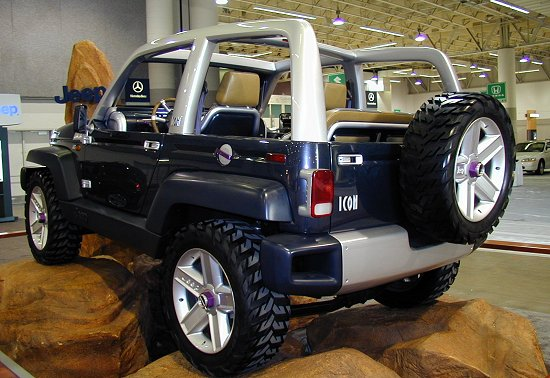 1997 Jeep Icon Concept History, Pictures, Value, Auction ...
