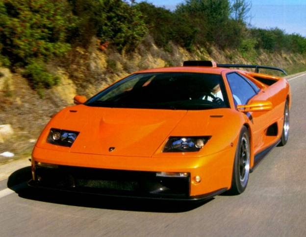Diablo Gt Race Car