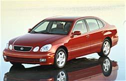 1999 lexus gs300 0-60