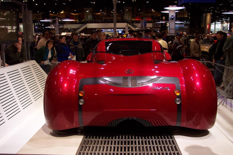 2002 Lexus Minority Report Concept Image Photo 21 Of 25