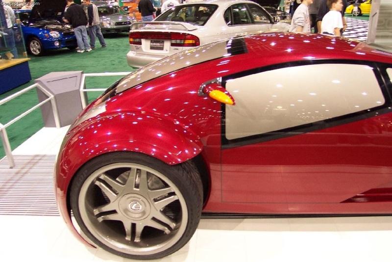 2002 Lexus Minority Report Concept Image Photo 17 Of 25