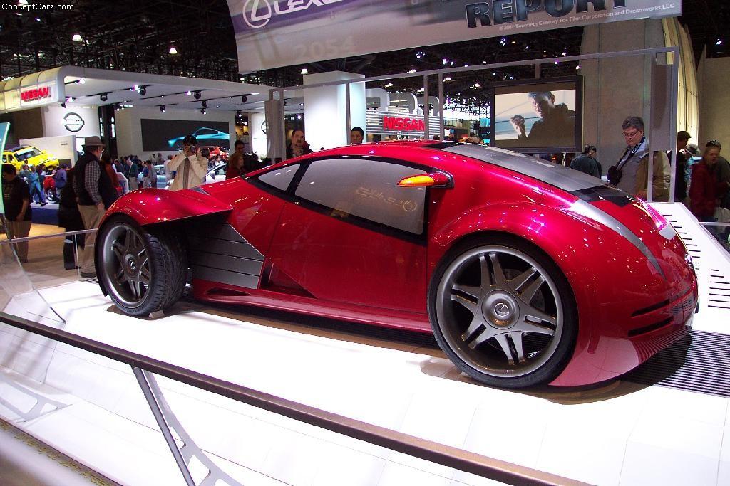 2002 Lexus Minority Report Concept Image. https://www ...
