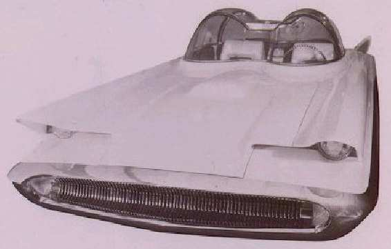 1955 Lincoln Futura Concept History Pictures Value Auction Sales