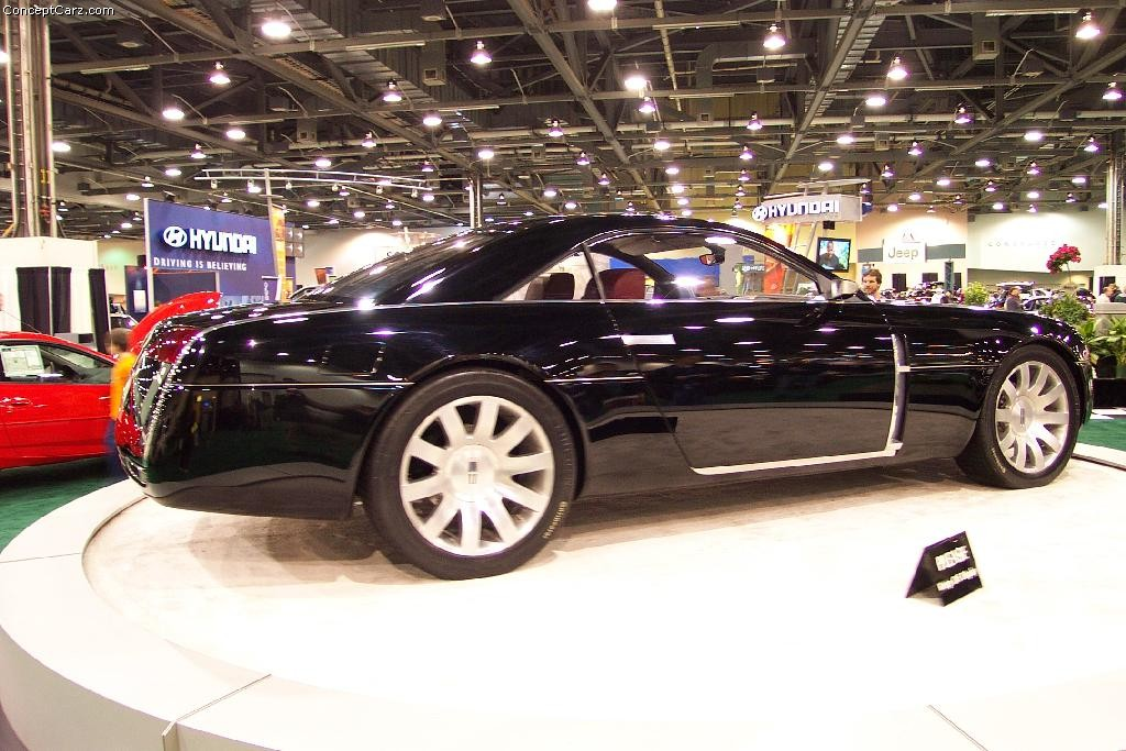 2001 Lincoln Mk9 Concept History Pictures Value Auction Sales