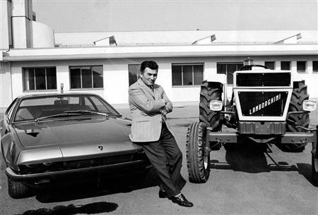 Lamborghini celebrates the 105th anniversary of the birth of Ferruccio Lamborghini