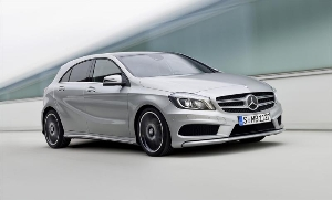 The new A-Class – the sporty compact model from Mercedes: 'All set for attack'