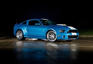 One-of-a-Kind 850-Horsepower 2013 Ford Shelby GT500 Cobra Created as a Tribute to Carroll Shelby