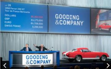 Gooding & Company Has Another Successful Auction in Scottsdale With $48.2 Million Sold