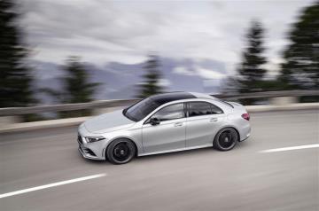 New Mercedes-Benz A-Class Sedan