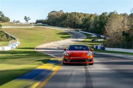 2021 Porsche Panamera Turbo S sets production sedan benchmark at Michelin Raceway Road Atlanta