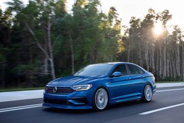 The Volkswagen 2021 Enthusiast Fleet kicks off with the Blue Lagoon Jetta GLI concept